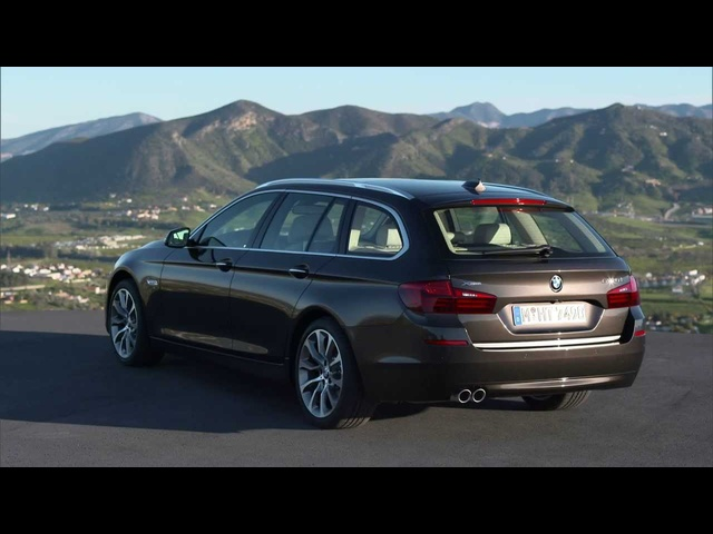 2014 <em>BMW</em> 530d Touring F 11 HD Exterior In Detail Commercial Carjam TV HD