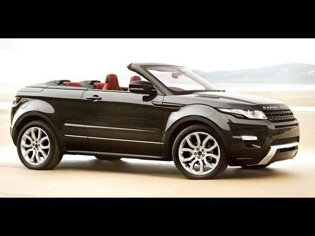 Range <em>Rover</em> Evoque Convertible Commercial HD New Concept Carjam TV HD