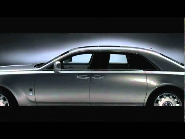 Carjam: New LWB Rolls-Royce Ghost 2011 Extended Wheelbase Launch Film
