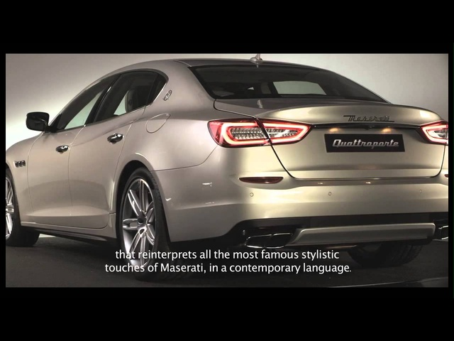 New Maserati Quattroporte 2013 Design Commercial Carjam TV HD Car TV Show