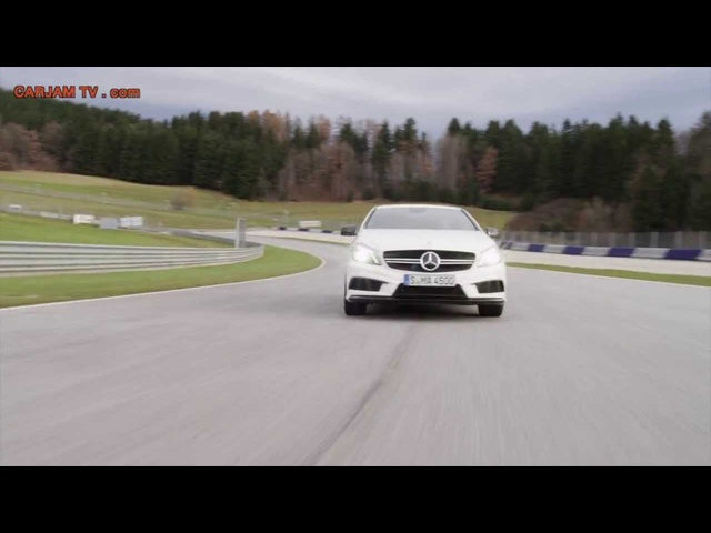 2014 <em>Mercedes</em> A45 AMG HD Race Track Good Exhaust Sound Commercial Carjam TV HD