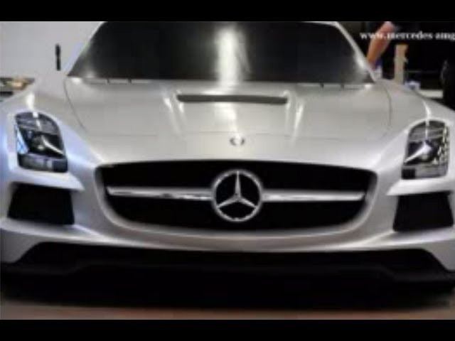 <em>Mercedes</em> SLS 2013 AMG Black Series Design Commercial Carjam TV HD Car TV Show