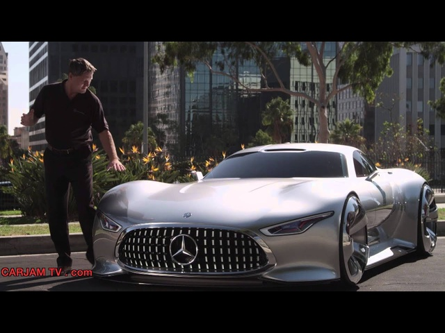 <em>Mercedes</em> AMG Vision Gran Turismo 6 Design Origins Commercial Carjam TV HD Car TV Show