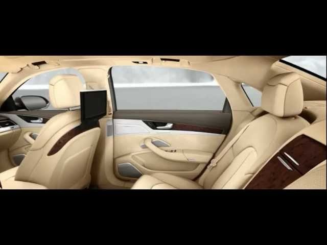 <em>Audi</em> A8L W12 2013 Interior Detail Commercial Carjam TV