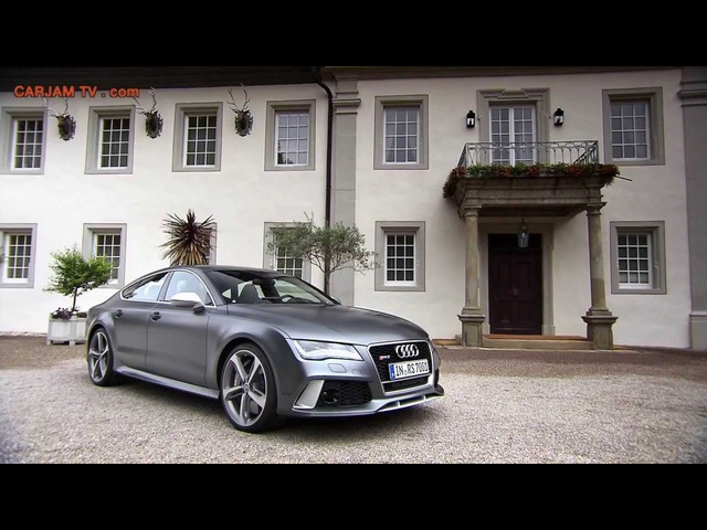 2014 <em>Audi</em> RS 7 HD Sportback Quattro Commercial Carjam TV HD Car TV Show 2013