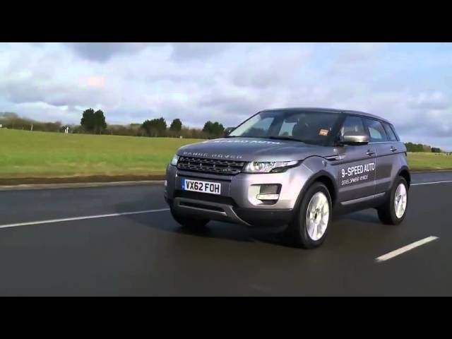 2013 Range <em>Rover</em> Evoque 9 Speed Auto Commercial Beauty Shots Carjam TV HD Car TV Show 2013