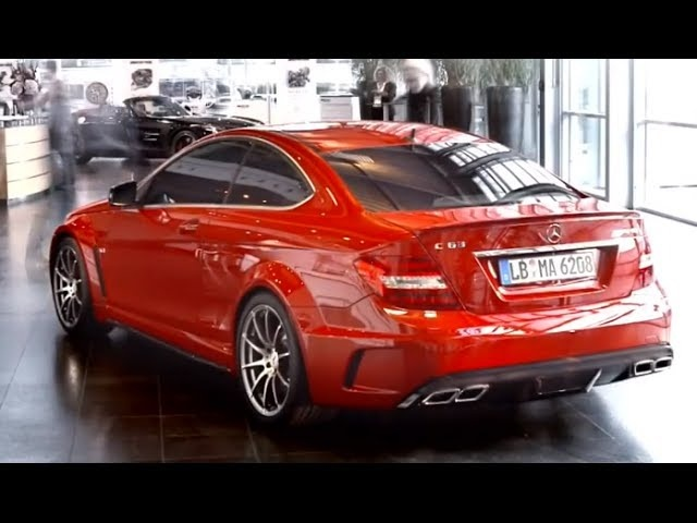 New Mercedes C63 AMG Black Series Commercial - New Carjam TVCar Show 2014