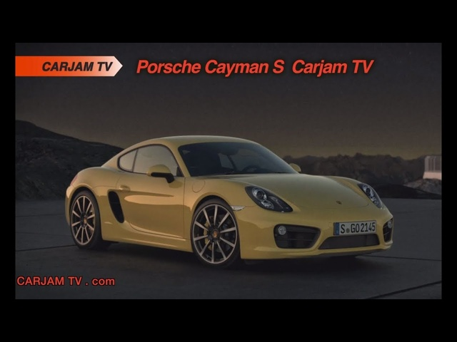 Porsche Cayman S 981 HD 2014 New Commercial Engine Sound Carjam TVHD Car TV Show