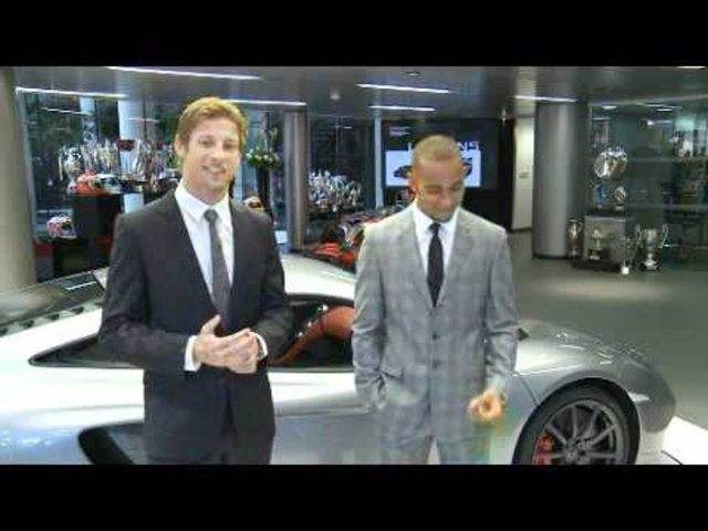 Lewis Hamilton + Jenson Button New McLaren Store London 2011 - Carjam Radio