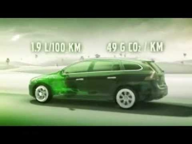 <em>Volvo</em> V60 Hybrid Diesel Electric Car Commercial 2012 - New Carjam Car Radio Show