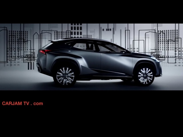 Lexus LF-NX Hybrid SUV HD Compact Commercial Concept 2014 Carjam TV HD Car TV Show