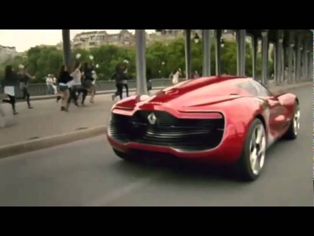<em>Renault</em> DeZir Commercial France 2011 Electric Car - Carjam Car Radio Show
