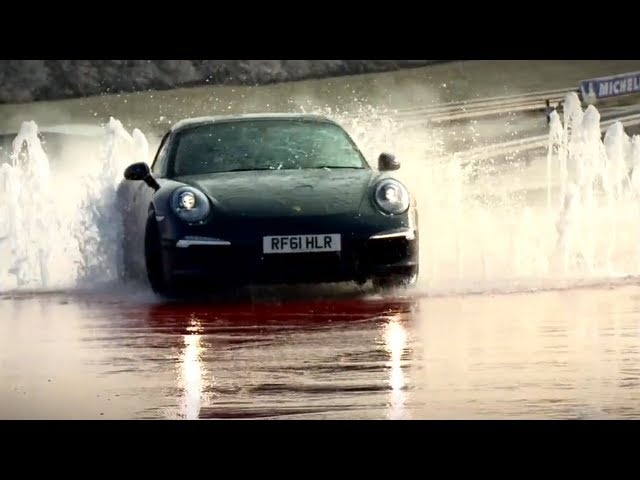 Porsche 911 991 2013 Carrera 4 Ice Skid Test Commercial Carjam TV HD Car TV Show 2013