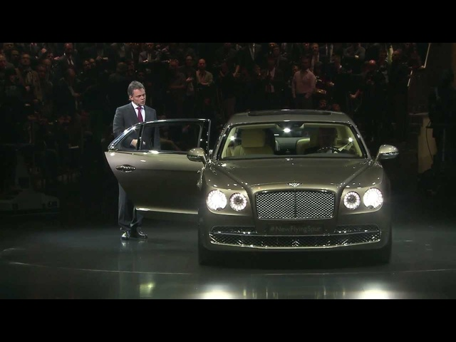 2013 <em>Bentley</em> Flying Spur Debut Geneva Commercial Carjam TV HD Car TV Show