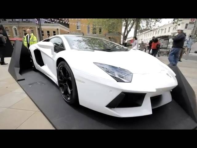 Rare <em>Lamborghini</em> London 2012 Commercial Carjam TV HD Car TV Show
