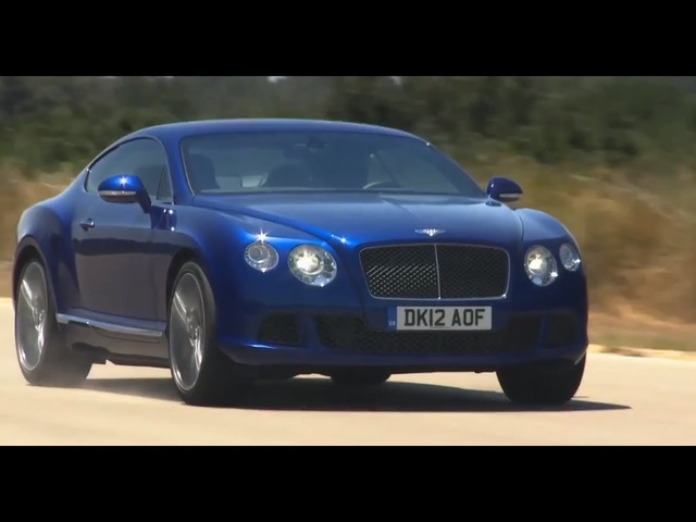 <em>Bentley</em> Continental GT at 205.4 MPH Demo Top Speed Commercial <em>Bentley</em> GT Speed Carjam TV HD 2014