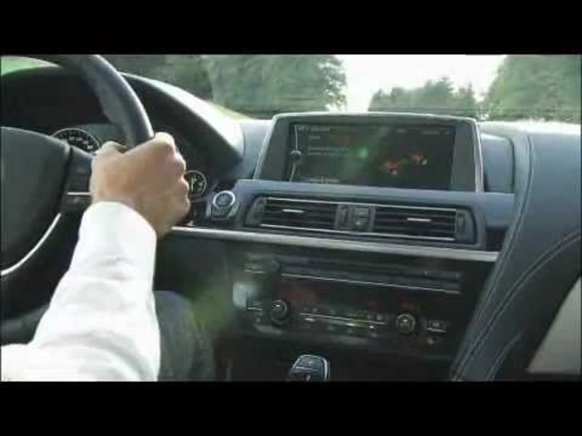 New <em>BMW</em> 6 Series 2011 - Driving On Board + Head Up Display - Carjam Radio