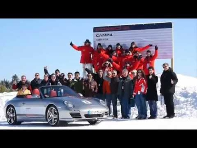 Porsche 911 Winter Test Asphalt is for Amateurs Commercial 2012 - Carjam Radio