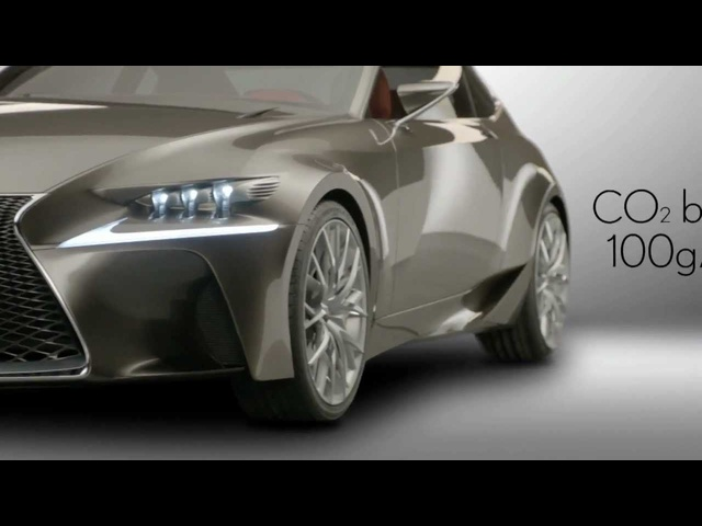 2013 Lexus LF-CC In Detail New Concept Commercial 2013 Carjam TV HD Car TV Show