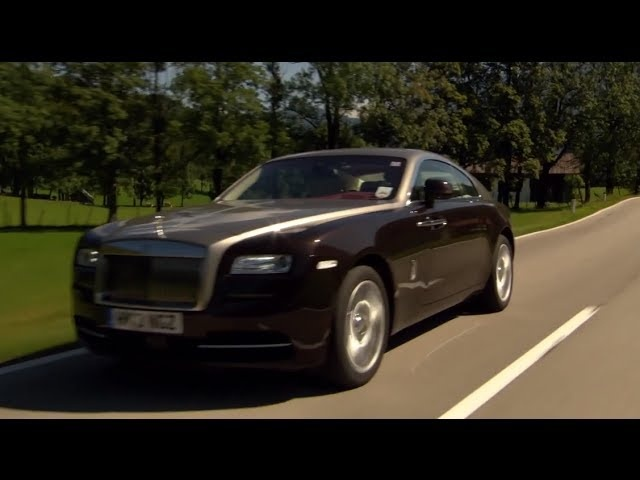 New Rolls Royce Wraith HD Driving Engine Sound Commercial 2014 Carjam TV HD Car TV Show