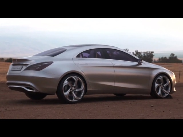 New <em>Mercedes</em> Coupe 2013 Concept Style Commercial Karlie Kloss Sexy TV Ad Carjam TV HD