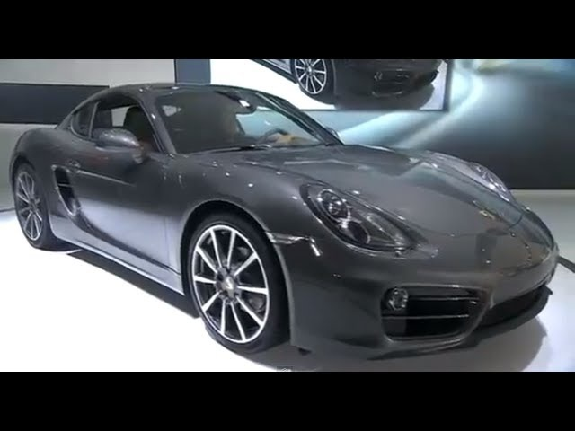 New Porsche Cayman 2013 World Premiere L.A. Auto Show In Detail Commercial Carjam TV