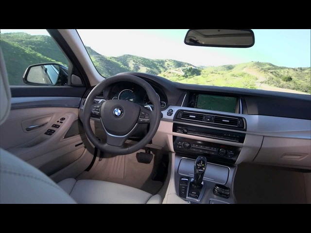 2014 New <em>BMW</em> 5 Series Touring Interior HD 530d Detail Commercial Carjam TV HD