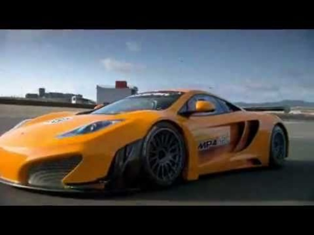 New <em>McLaren</em> MP4-12C GT3 2011 Car Engine Start + Testing - Carjam Radio