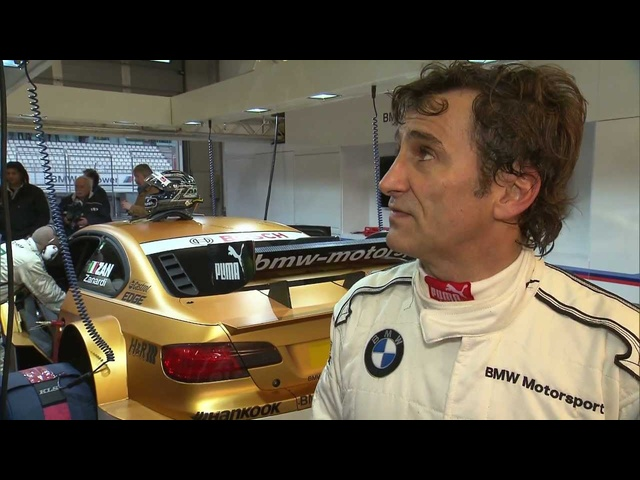 Alex Zanardi Racing <em>BMW</em> M3 DTM 2013 Interview <em>BMW</em> Commercial Carjam TV HD Car TV Show