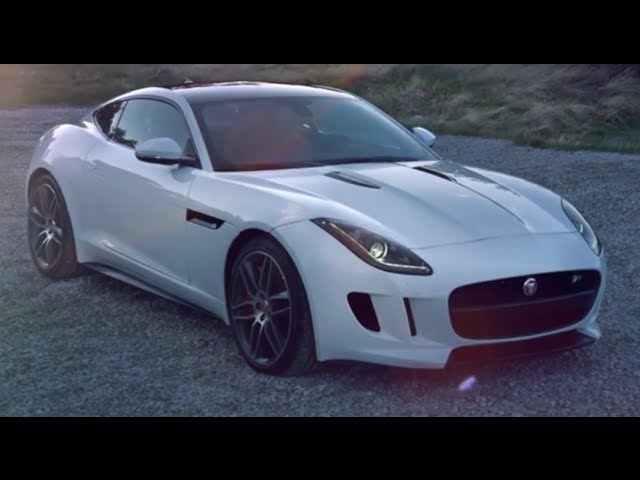 Jaguar F-Type R Coupé 550PS 5.0-litre HD 2014 Cool First Commercial Carjam TV HD Car TV Show
