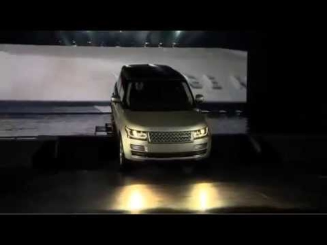 New Range <em>Rover</em> 2013 Commercial Celebrity Launch 2012 - Carjam TV Show About Cars