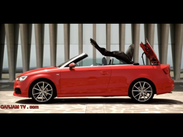 New <em>Audi</em> A3 Cabriolet HD Review In Detail Commercial 2014 Carjam TV HD Car Show