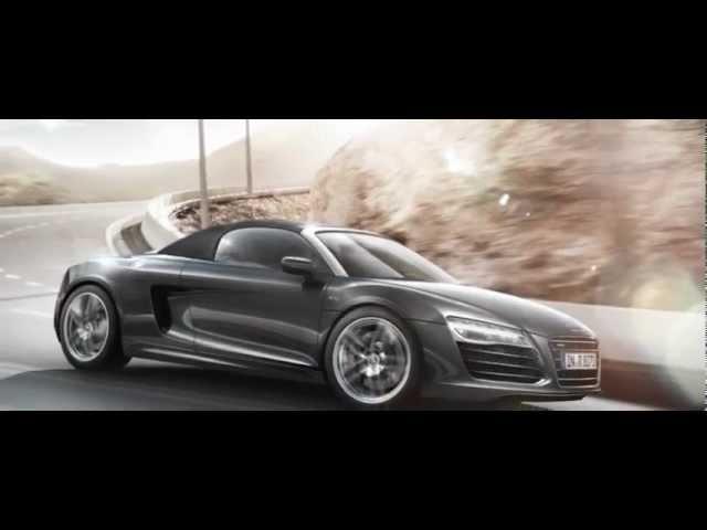 <em>Audi</em> R8 Spyder 2013 Promo Commercial Carjam TV