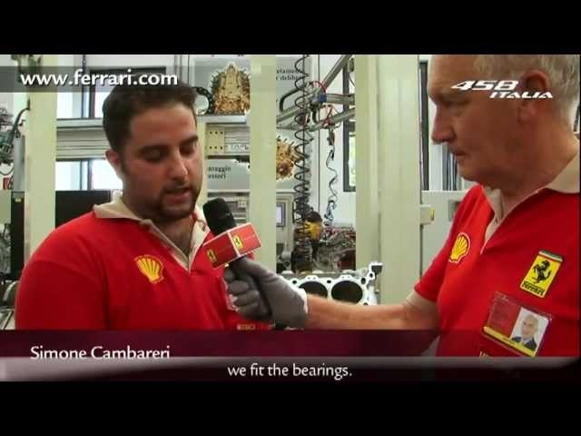 New Ferrari 458 Italia Engine Built By Hand 2011 - Carjam Radio