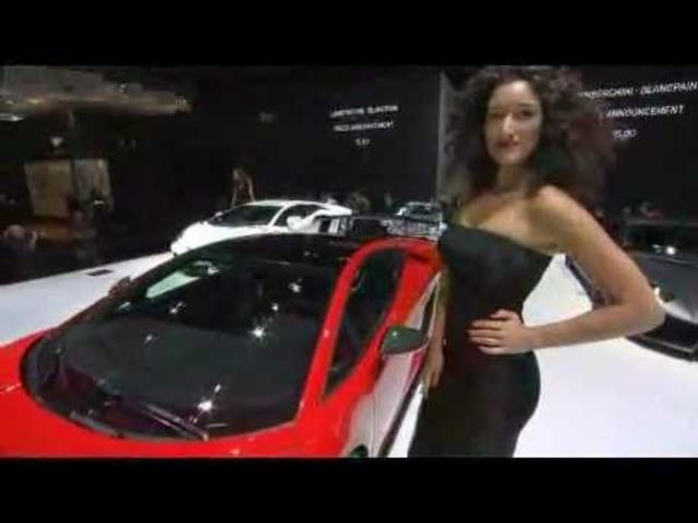 Lamborghini Gallardo In Detail Sexy Ad Super Trofeo Stradale New Frankfurt 2011 -Carjam Radio