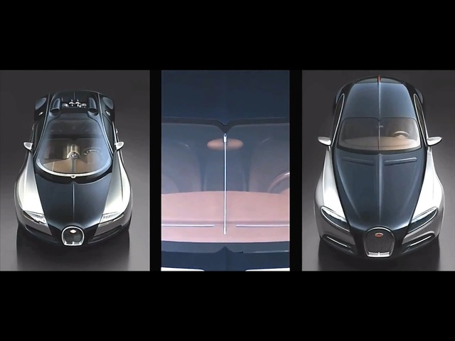 Bugatti 5 Door Galibier Royale In Detail Interior Commercial - Carjam TV HD Car TV Show