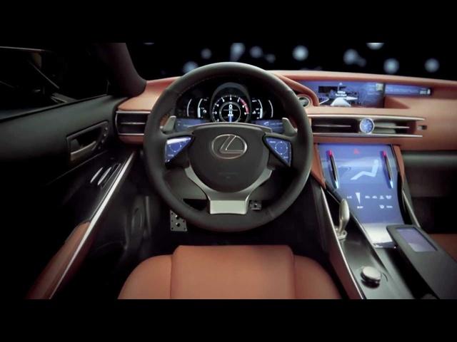 <em>Lexus</em> LF-CC World Premiere Concept Commercial 2013 Carjam TV HD Car TV Show