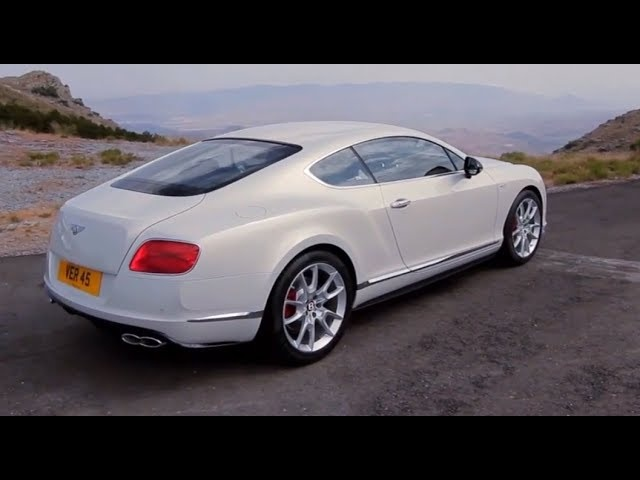 2014 <em>Bentley</em> Continental GT V8 S New Walk Around Driving Commercial Carjam TV HD Car TV Show