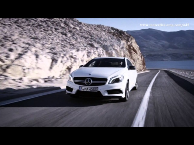 2013 <em>Mercedes</em> A 45 AMG First Commercial 2013 A Class W176 Carjam TV HD Car TV Show