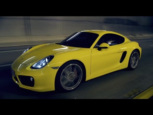 New Porsche Cayman 2013 HD First Commercial Official LA Auto Show Carjam TV HD Car TV Show