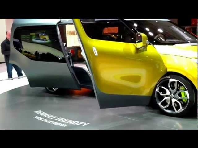 <em>Renault</em> Friendzy 2012 Electric Car Concept Commercial - 2011 New Carjam Radio