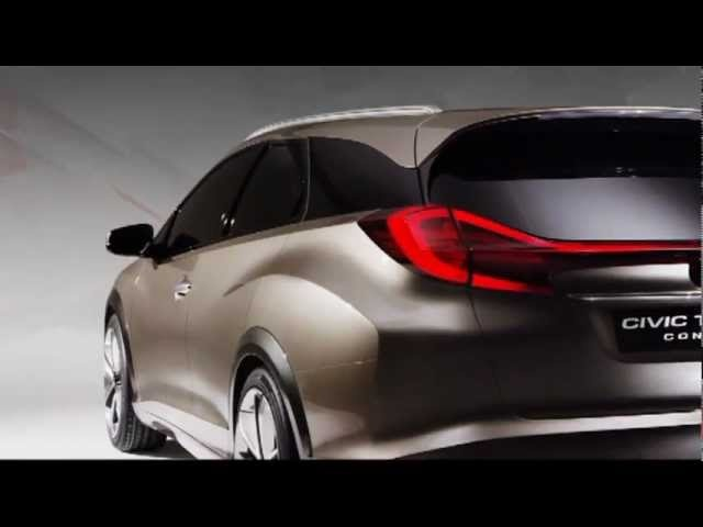 2013 <em>Honda</em> Civic Tourer Concept Commercial <em>Honda</em> Aerodeck 2013 Carjam TV HD Car TV Show 2013