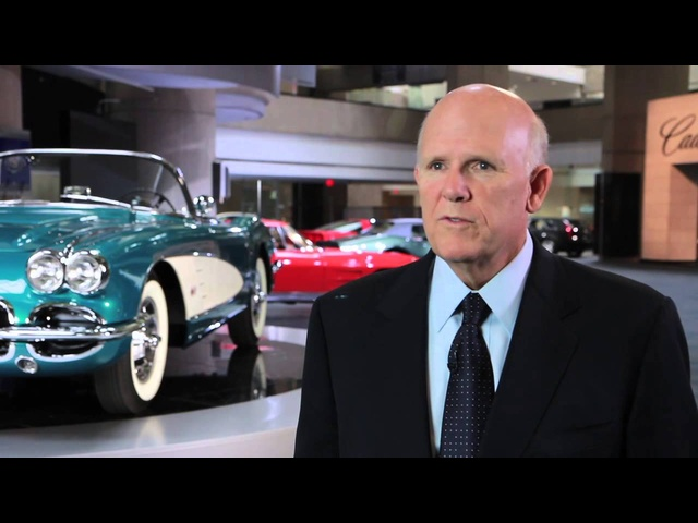 Chevy Corvette 1958 GM CEO Sells His Own Car Dan Akerson Charity Commercial Carjam TV