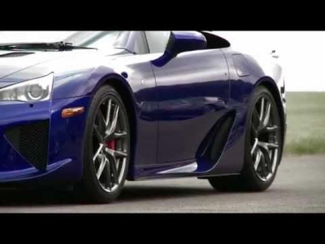 Lexus LFA races IS F 2011 -Carjam Radio -TV Ad Car Commercial 2011