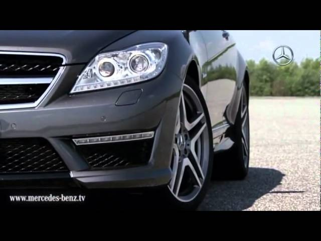 New <em>Mercedes</em> CL 63 AMG Details 2011 TV Ad Car Commercial Driving - Carjam Radio