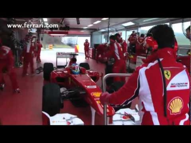 Carjam: Alonso 1st Test Fiorano New Ferrari F150th Italia Feb 2011