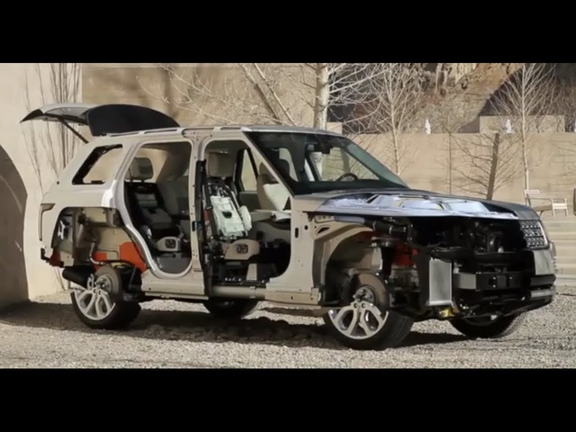 Range <em>Rover</em> Walkaround Amazing Cutaway In Detail Commercial Carjam TV HD Car Show 2015