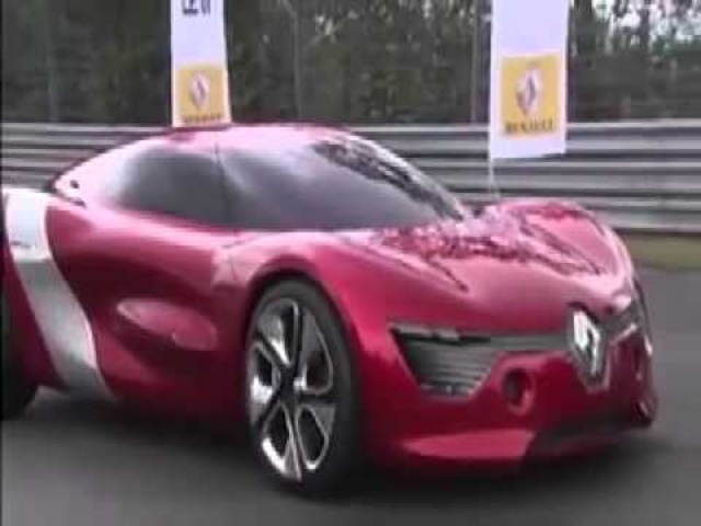 ☆ F1 Sebastian Vettel Tests New Renault Dezir At Nurburgring 2011 Car Commercial - Carjam Radio
