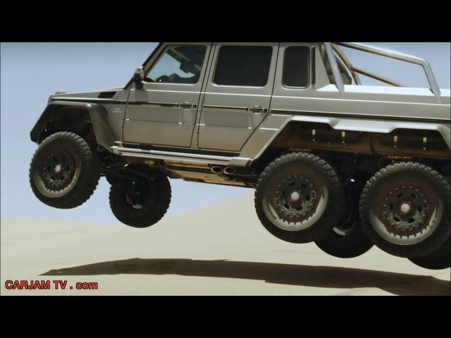 AMG 6x6 6 Wheel AMG G63 HD Off Road Best SUV <em>Mercedes</em> G Class Commercial 2014 Carjam TV