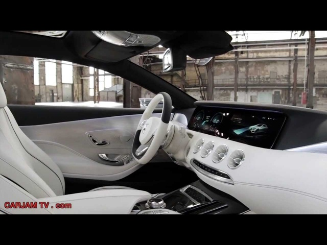 New <em>Mercedes</em> S Class Coupe HD Interior 6 Minutes In Detail First Commercial 2014 Carjam TV HD